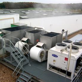 Tour de refroidissement et Groupe d'eau glacée pour refroidissement de four de brasage